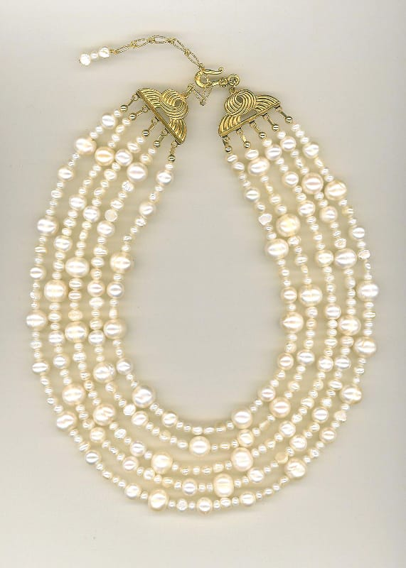 white-necklace